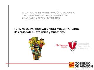 FORMAS DE PARTICIPACIÓN DEL VOLUNTARIADO: Un análisis de su evolución y tendencias