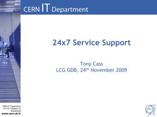 24x7 Service Support
