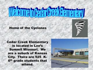 Welcome to Cedar Creek Elementary