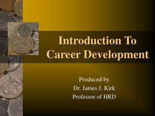 Introduction To Career Development