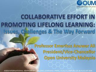 COLLABORATIVE EFFORT IN PROMOTING LIFELONG LEARNING: