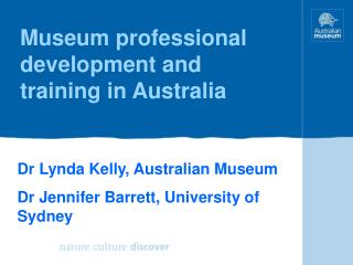 Museum professional development and training in Australia