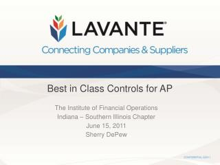 Best in Class Controls for AP