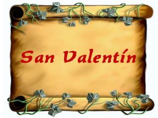 SanValentin