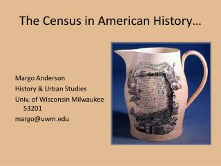 The Census in American History�
