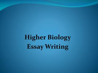 essay about biology Papers archive 2018 2016 2015 2014 2013 2012 2011 2010 2009 2008 2007 2006 2005 2004 2000 research papers conjunction of factors triggering waves of.