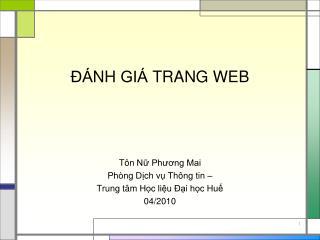 A NH GIA  TRANG WEB