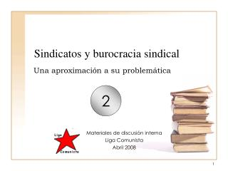 Sindicatos y burocracia sindical