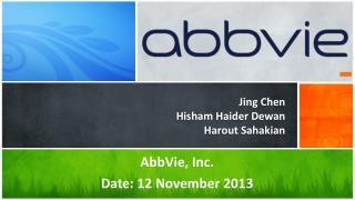 Jing Chen Hisham Haider Dewan Harout Sahakian