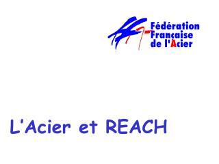 L'Acier et  REACH