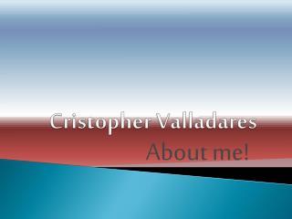 Cristopher Valladares