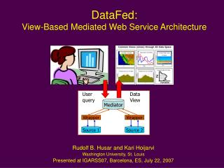 DataFed:  View-Based Mediated Web Service Architecture