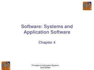 Software: Systems and Application Software