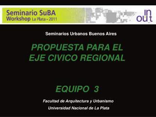 Seminarios Urbanos Buenos Aires