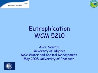 Eutrophication  WCM 5210