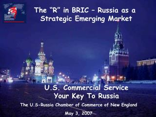 U.S. Commercial Service  Your Key To Russia