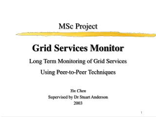 MSc Project