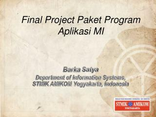 Final Project Paket Program Aplikasi MI