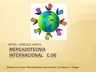 MERCADOTECNIA INTERNACIONAL   C.06