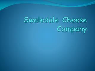 Swaledale  Cheese Company