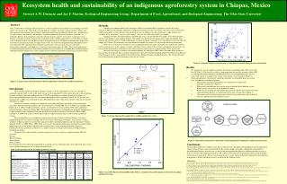 Ecosystem health and sustainability of an indigenous agroforestry system in Chiapas, Mexico