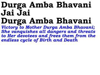 0283_Ver06L_Durga Amba Bhavani Jai Jai