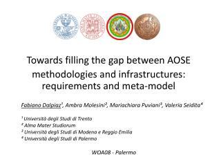 Towards filling the gap between AOSE