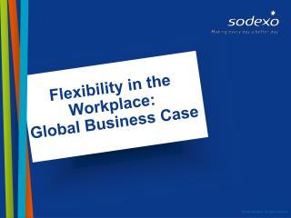 Flexibility in the Workplace:  Global Business Case
