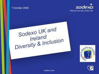 Sodexo UK and Ireland  Diversity & Inclusion