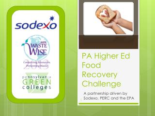 PA Higher Ed Food Recovery Challenge