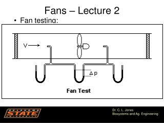 Fans – Lecture 2