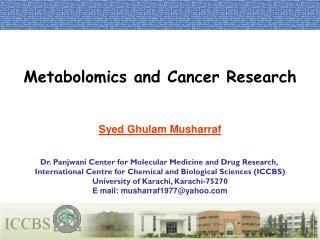 Syed Ghulam Musharraf