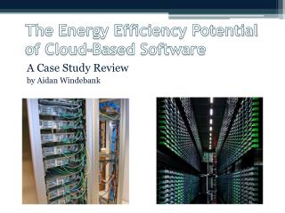 The Energy Efficiency Potential of Cloud-Based Software