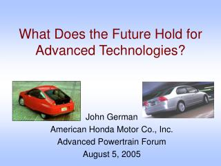 What Does the Future Hold for Advanced Technologies