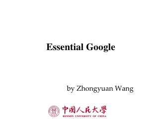 Essential Google