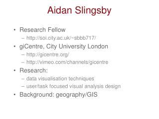 Aidan Slingsby