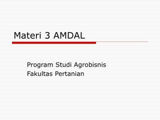 Materi 3 AMDAL