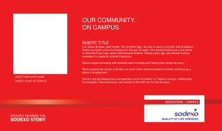 OUR COMMUNITY. ON CAMPUS.
