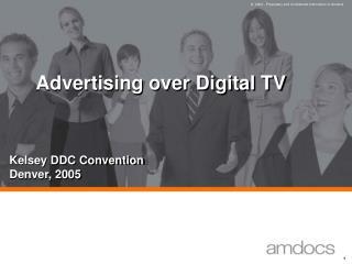 Advertising over Digital TV