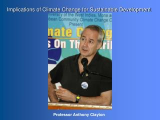 Implications of Climate Change for Sustainable Development