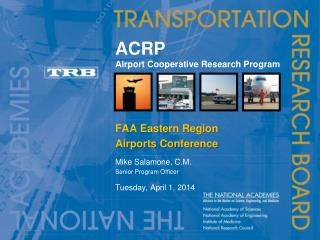 ACRP Airport Cooperative Research Program
