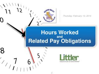 Hours Worked and Related Pay Obligations