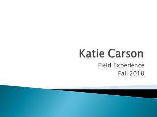 Katie Carson