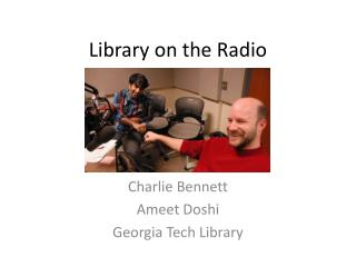 Library on the Radio