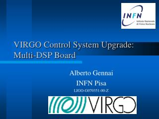 VIRGO Control System Upgrade : Multi-DSP Board