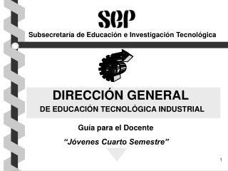Subsecretaría de Educación e Investigación Tecnológica