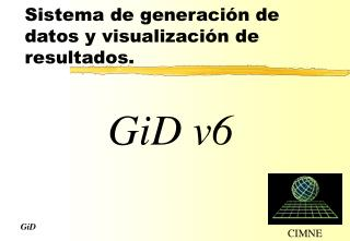 Sistema  de generación de datos y visualización de resultados.