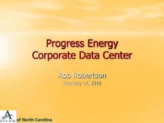 Progress Energy Corporate Data Center
