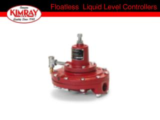 Floatless  Liquid Level Controllers