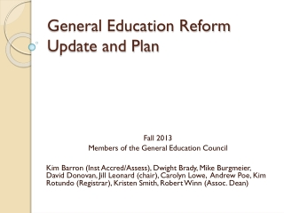 Education and The Economy   AACU